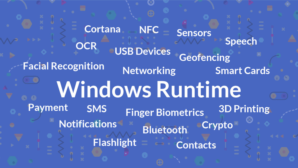Windows Runtime Facial Recognition OCR USB Devi...