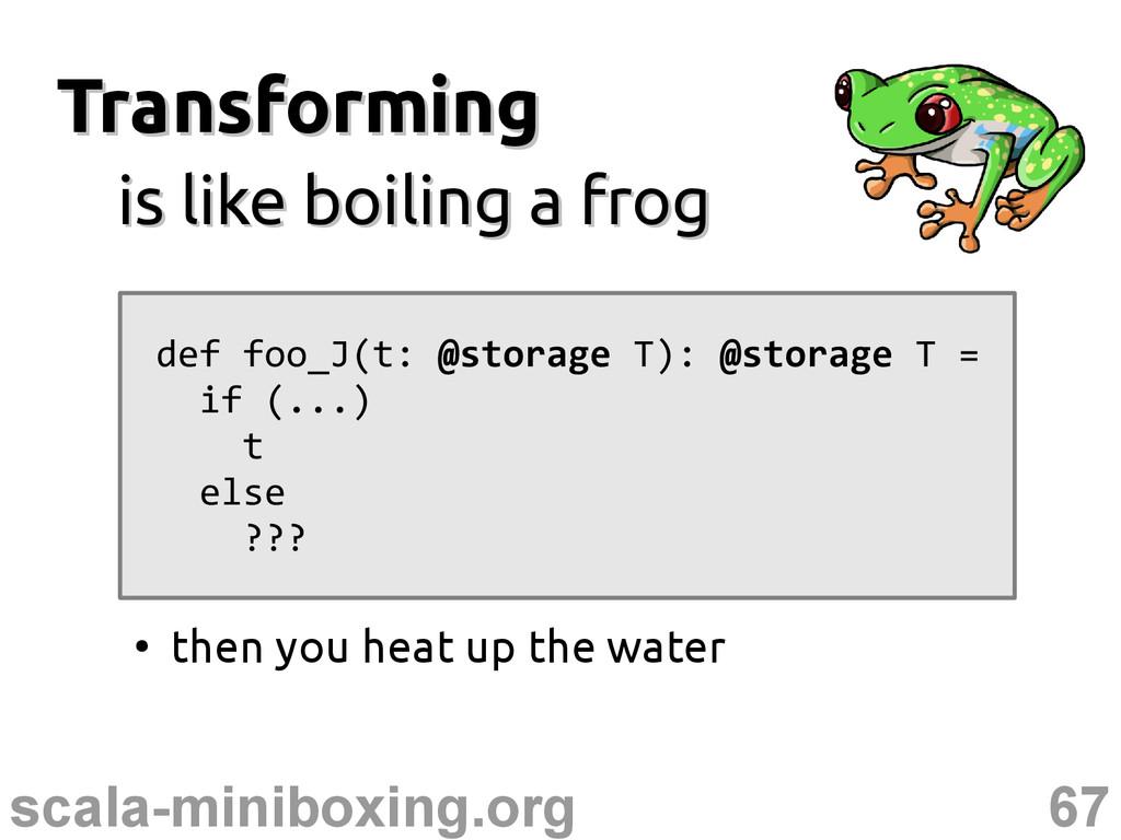 67 scala-miniboxing.org Transforming Transformi...