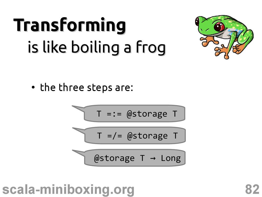 82 scala-miniboxing.org Transforming Transformi...