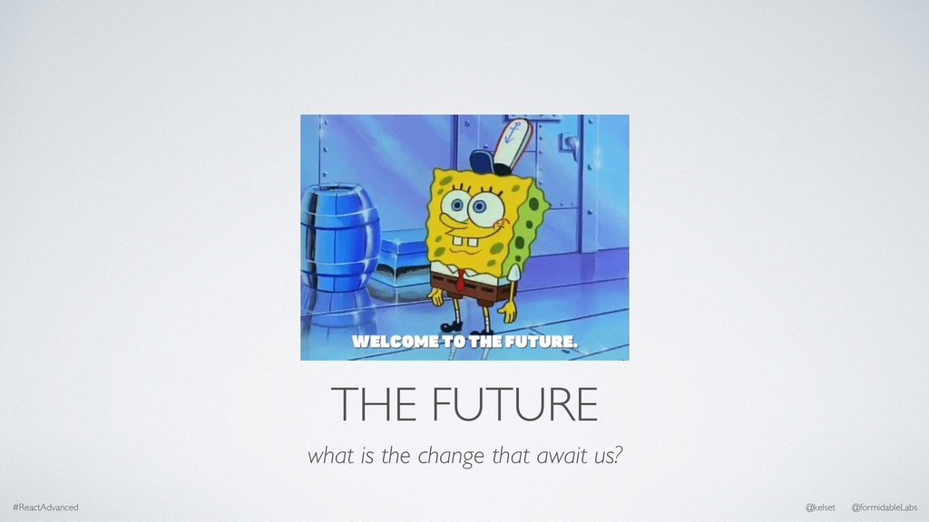 THE FUTURE what is the change that await us? #R...