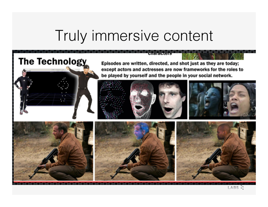 Truly immersive content!