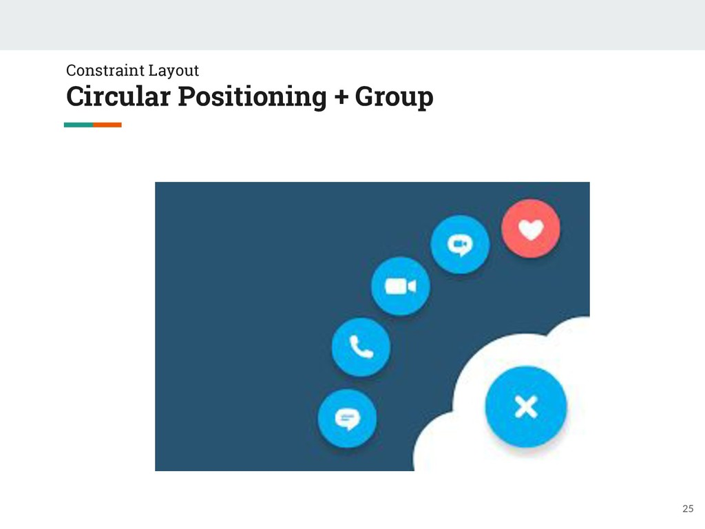 Constraint Layout Circular Positioning + Group ...