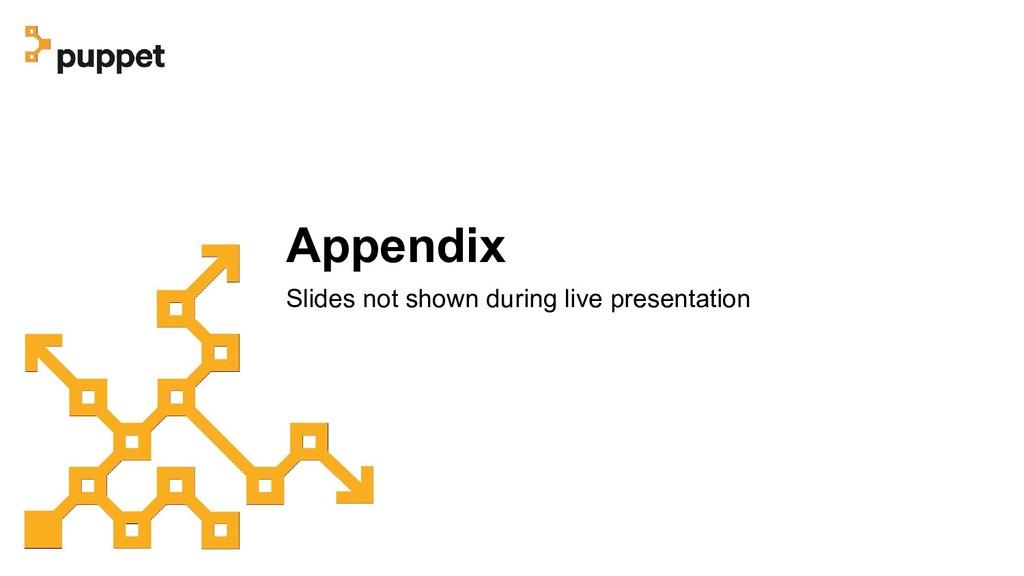 Appendix Slides not shown during live presentat...