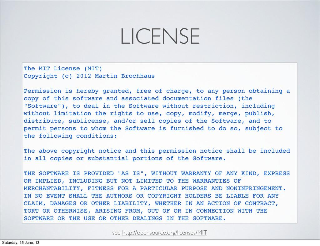 LICENSE The MIT License (MIT) Copyright (c) 201...