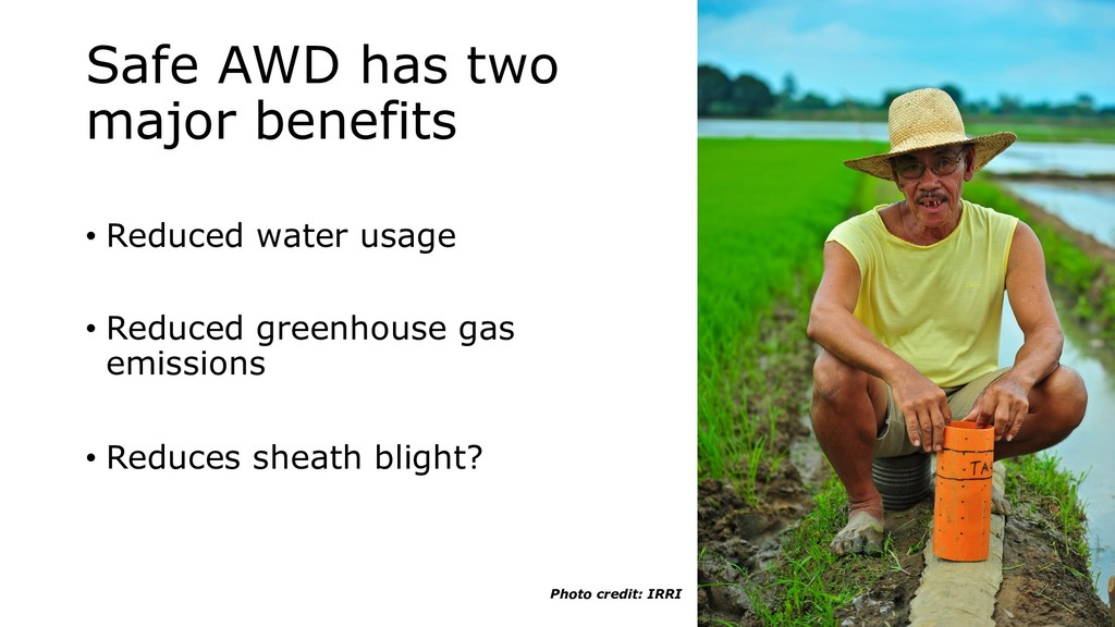 Safe AWD has two major benefits • Reduced water...
