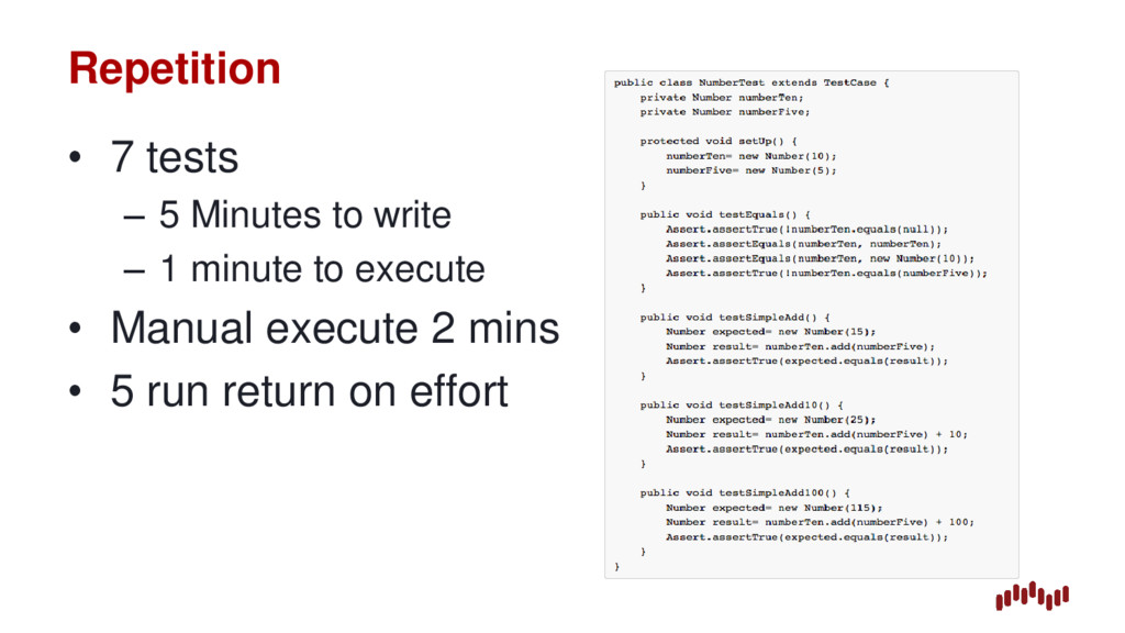 Repetition • 7 tests – 5 Minutes to write – 1 m...