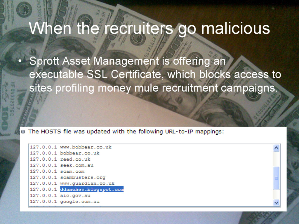 When the recruiters go malicious • Sprott Asset...