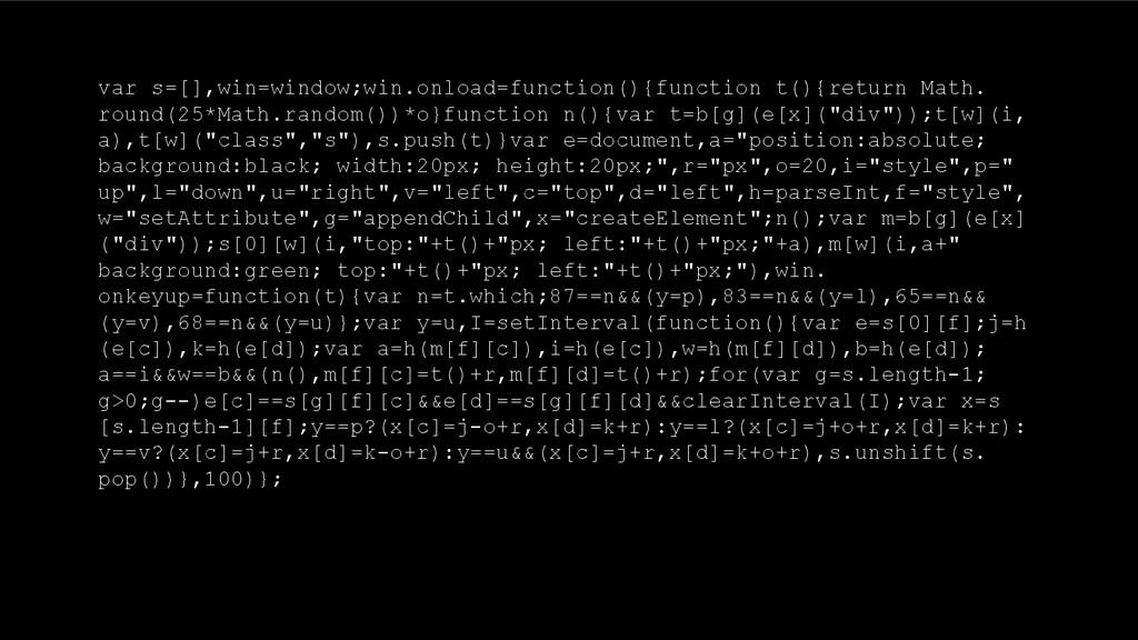 var s=[],win=window;win.onload=function(){funct...