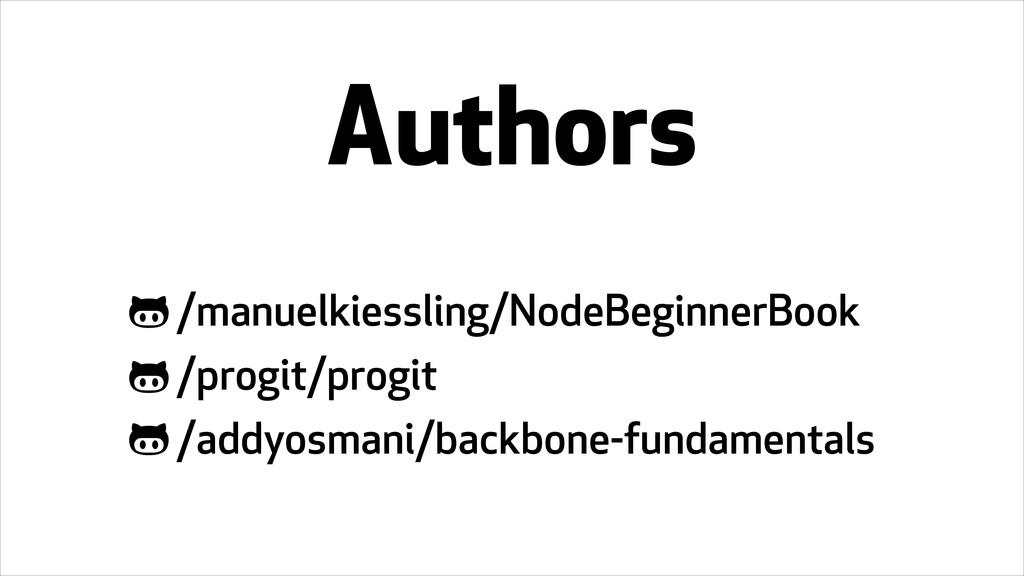 Authors /manuelkiessling/NodeBeginnerBook /prog...