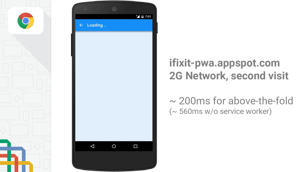 ifixit-pwa.appspot.com 2G Network, second visit...