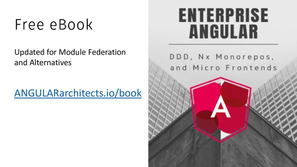 @ManfredSteyer ANGULARarchitects.io/book Update...