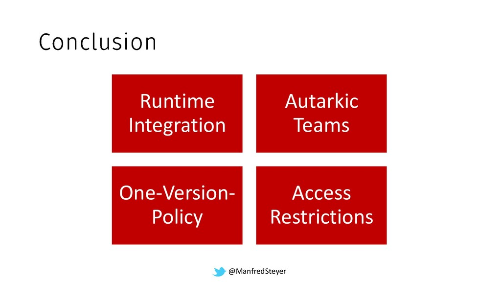@ManfredSteyer Runtime Integration Autarkic Tea...