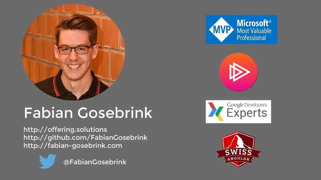 Fabian Gosebrink http://offering.solutions http...