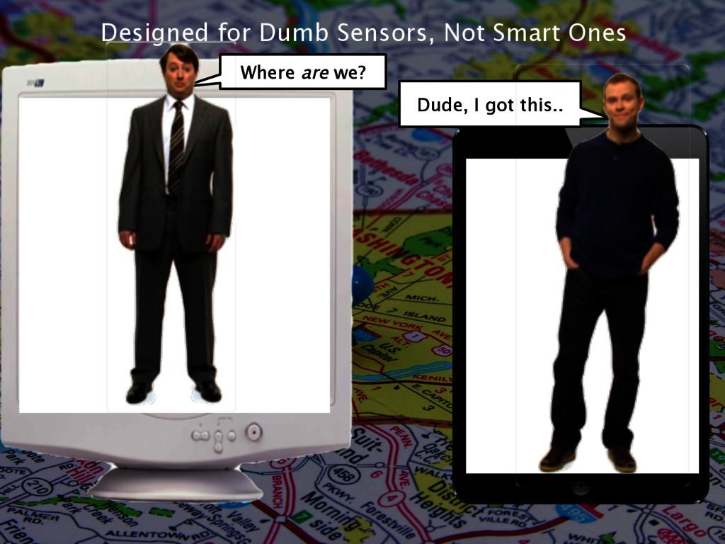 Designed for Dumb Sensors, Not Smart Ones 31 Wh...