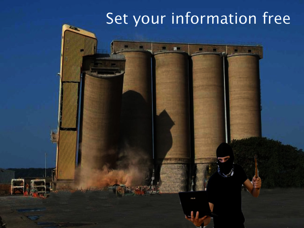 Set your information free