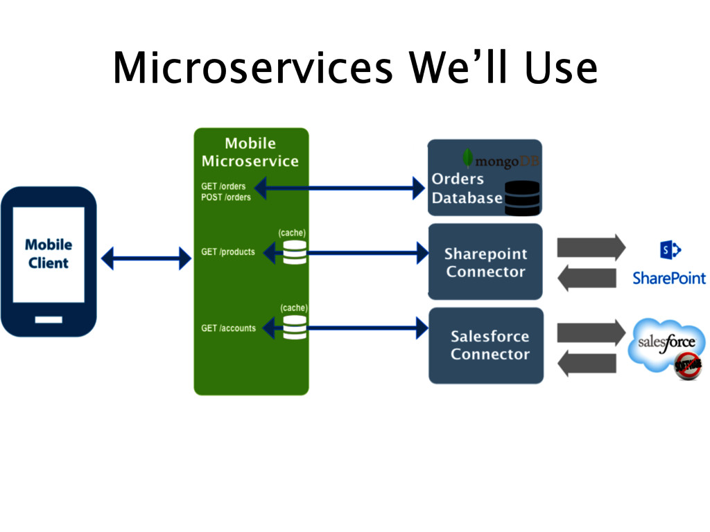 Microservices We'll Use