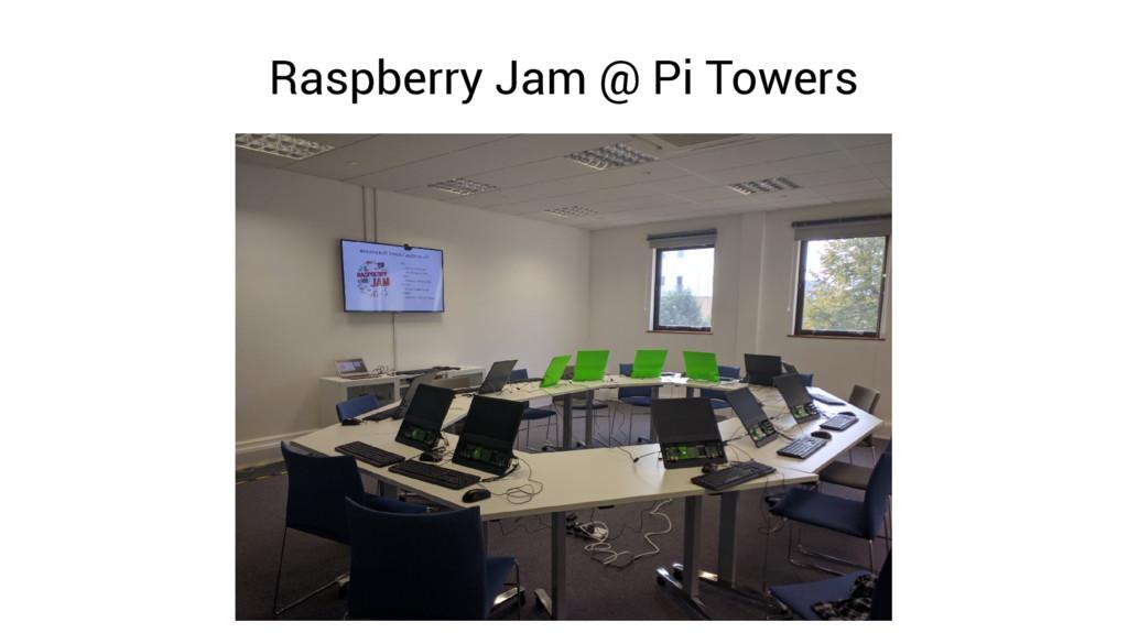 Raspberry Jam @ Pi Towers