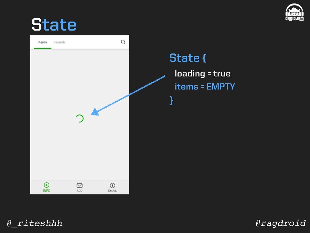 @ragdroid @_riteshhh State { loading = true ite...