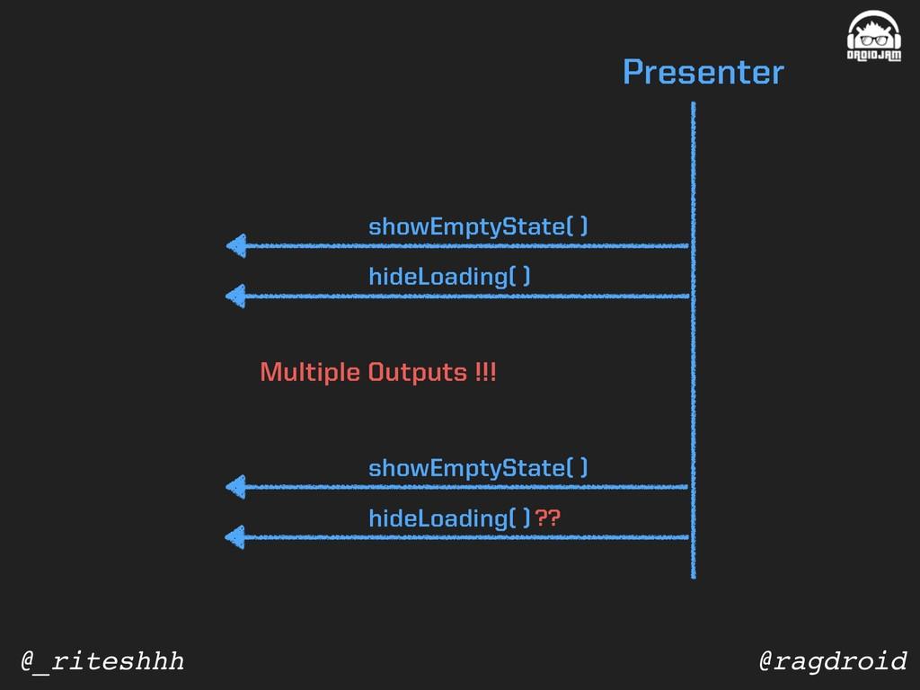 @ragdroid @_riteshhh Presenter showEmptyState( ...