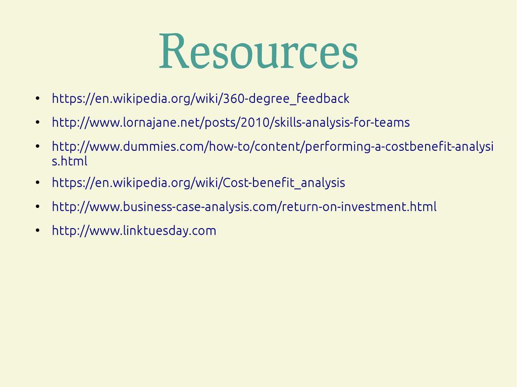 Resources ● https://en.wikipedia.org/wiki/360-d...