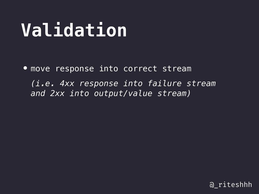 @_riteshhh Validation • move response into corr...