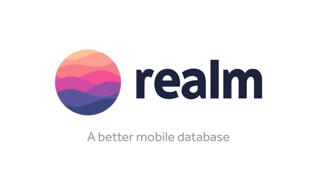 A better mobile database