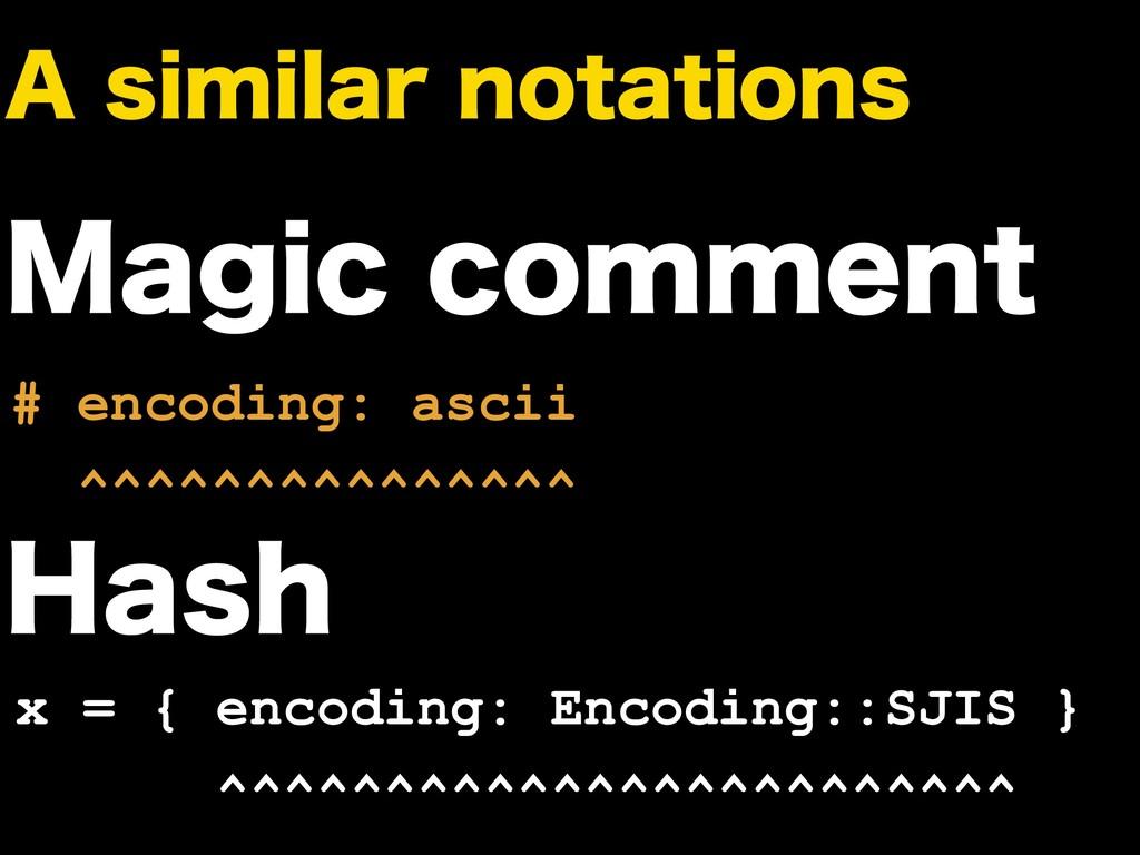 """TJNJMBSOPUBUJPOT .BHJDDPNNFOU # encoding: a..."