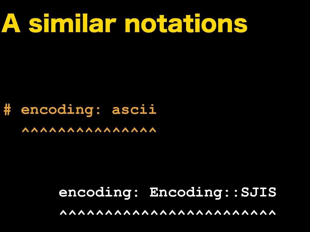 """TJNJMBSOPUBUJPOT # encoding: ascii ^^^^^^^^^..."