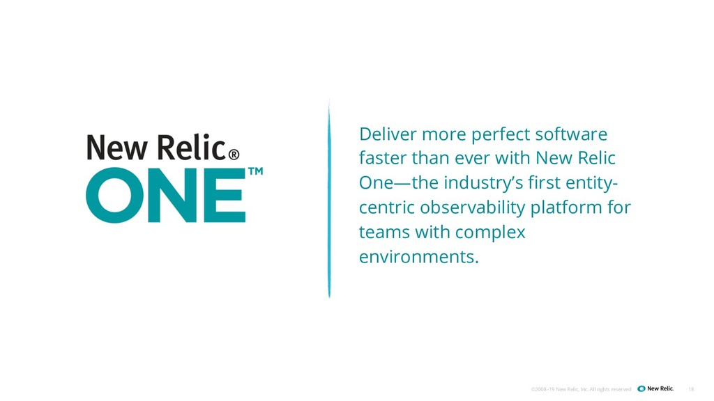 ©2008–19 New Relic, Inc. All rights reserved 18...