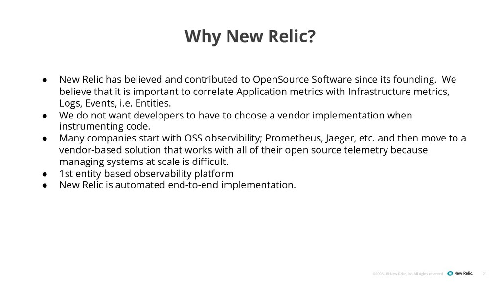 ©2008–18 New Relic, Inc. All rights reserved Wh...