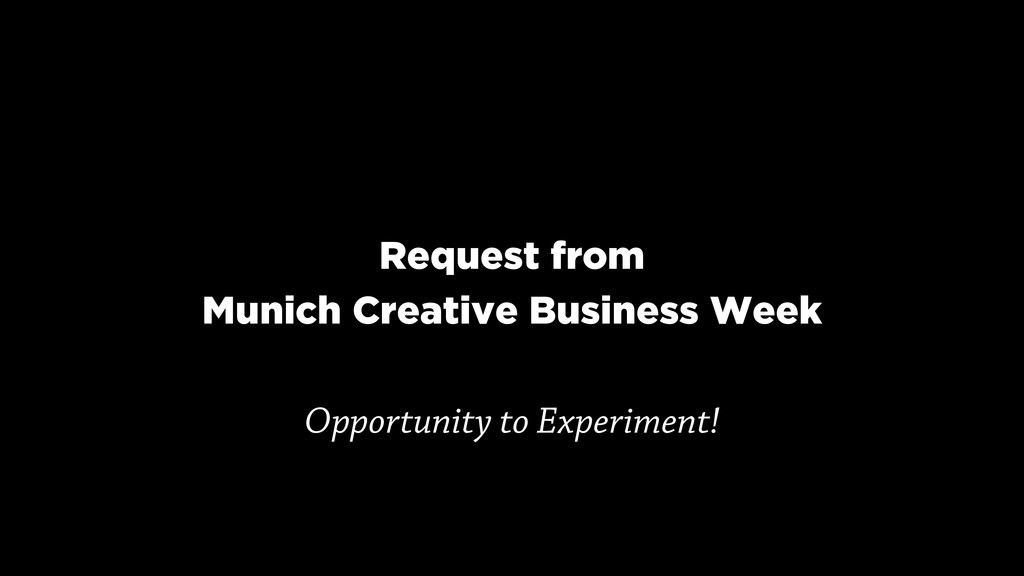 Request from