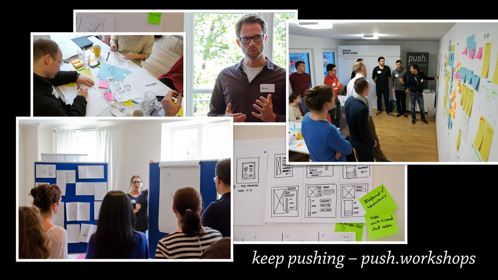 keep pushing – push.workshops