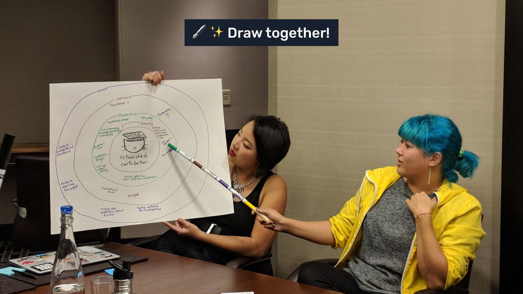 ✨ Draw together!