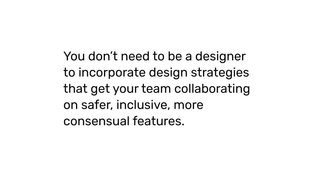 You don't need to be a designer to incorporate ...