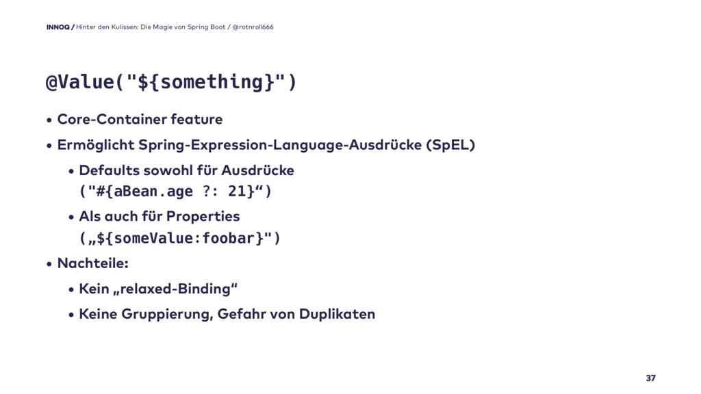 • Core-Container feature • Ermöglicht Spring-Ex...