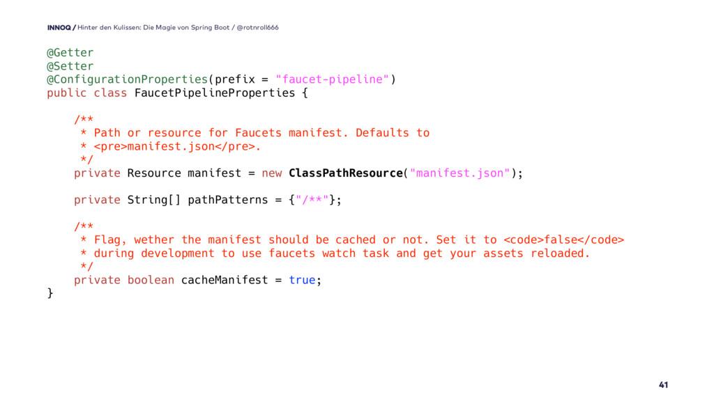 @Getter @Setter @ConfigurationProperties(prefix...