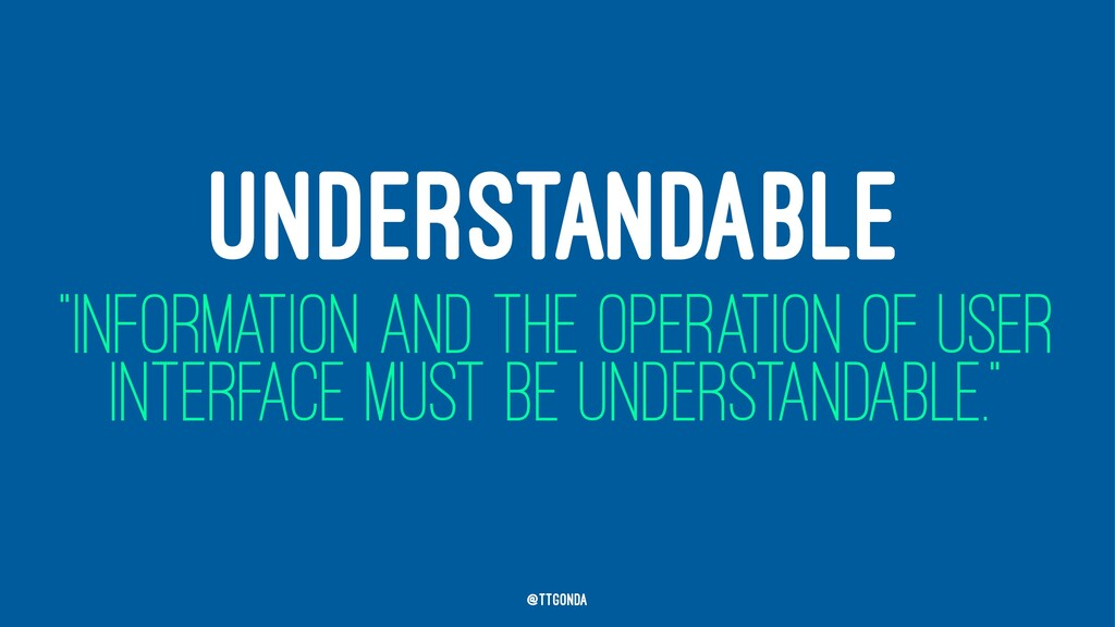 """UNDERSTANDABLE """"INFORMATION AND THE OPERATION O..."""