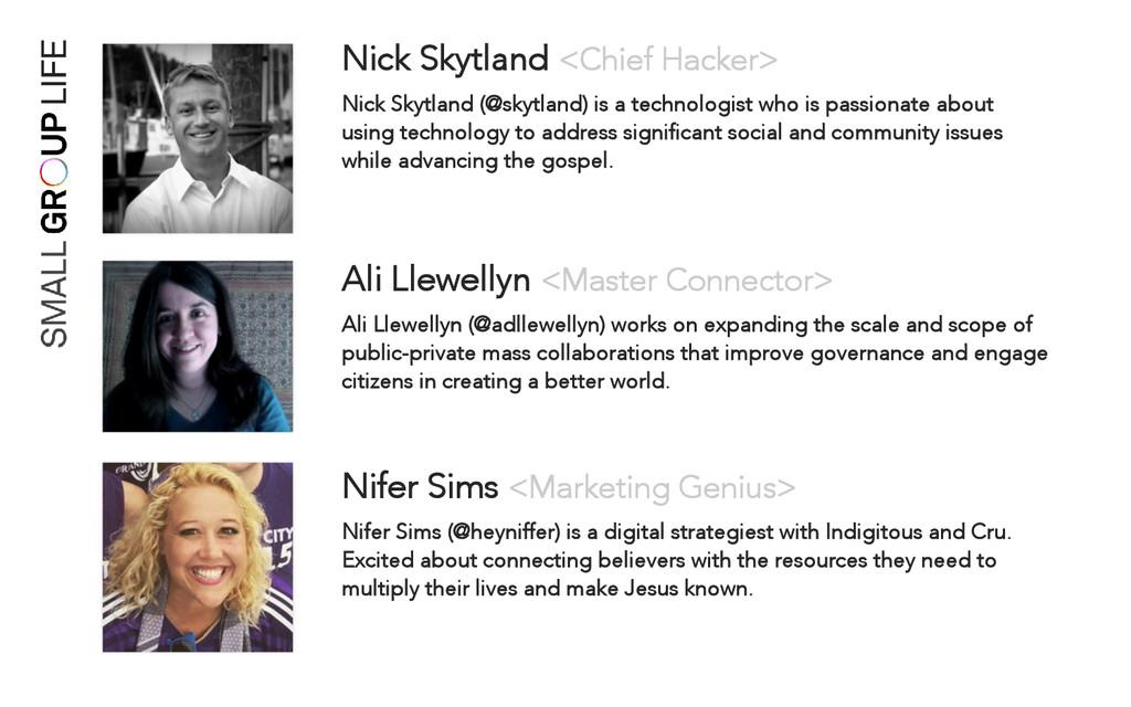 Nick Skytland <Chief Hacker> Nick Skytland (@sk...