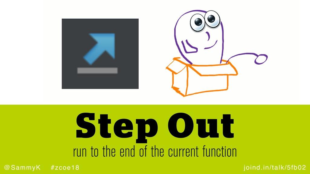 joind.in/talk/5fb02 @SammyK #zcoe18 run to the ...