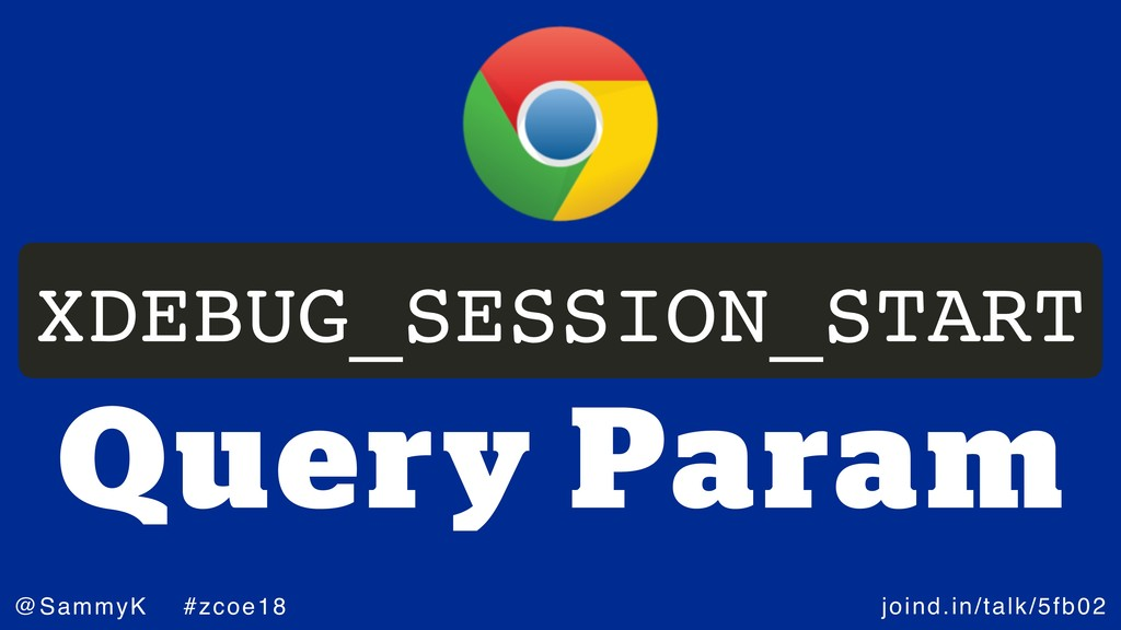 joind.in/talk/5fb02 @SammyK #zcoe18 Query Param...