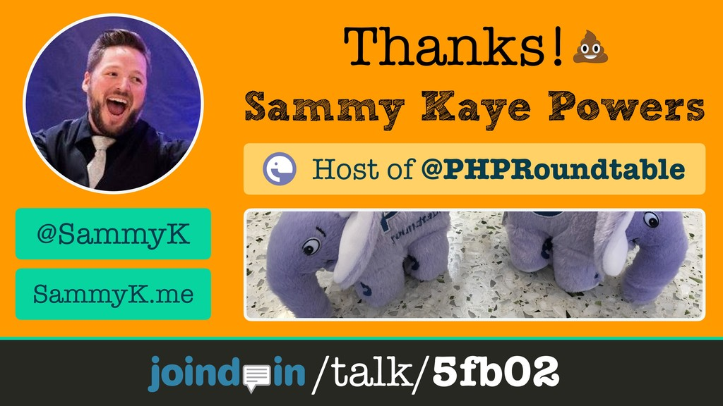 Sammy Kaye Powers Thanks! /talk/5fb02 @SammyK S...