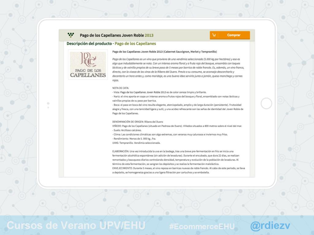 @rdiezv Cursos de Verano UPV/EHU #EcommerceEHU