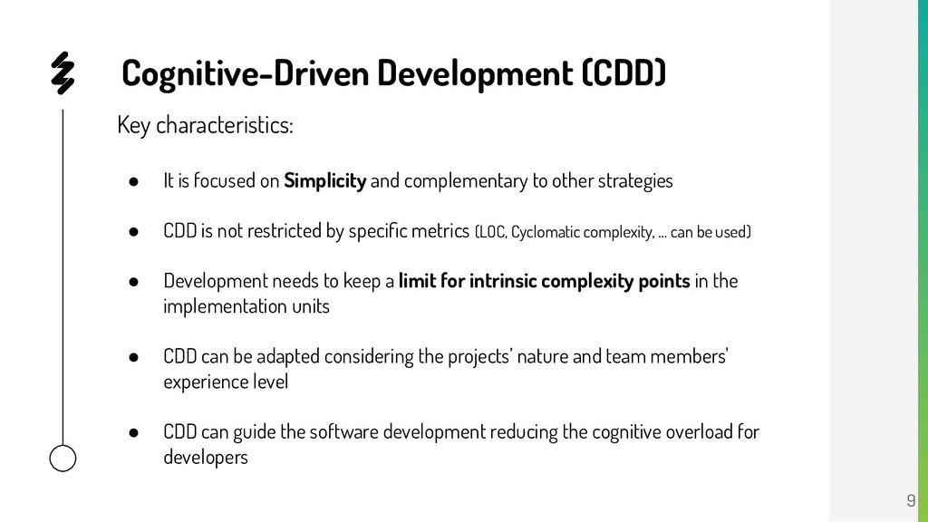 Key characteristics: ● It is focused on Simplic...