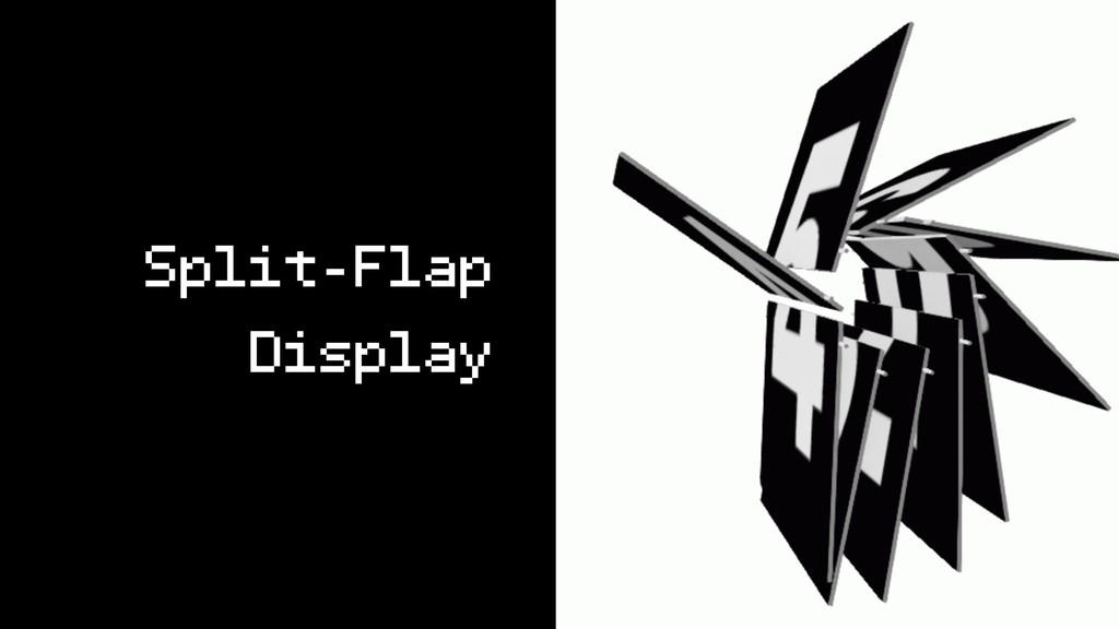 Split-Flap Display