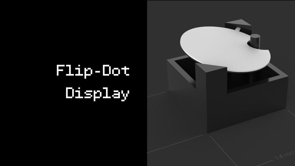 Flip-Dot Display