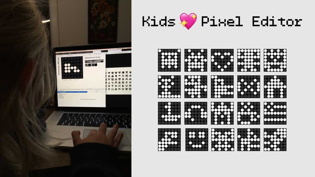 Kids Pixel Editor #