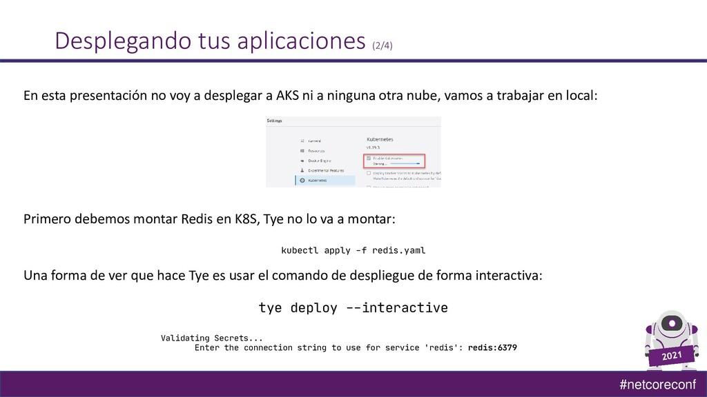 #netcoreconf Desplegando tus aplicaciones (2/4)...