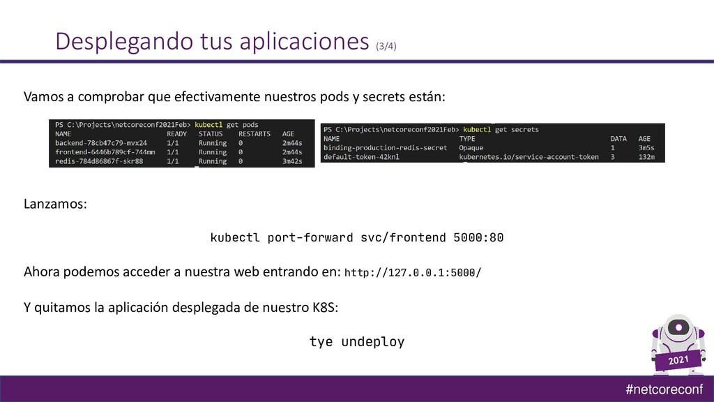 #netcoreconf Desplegando tus aplicaciones (3/4)...