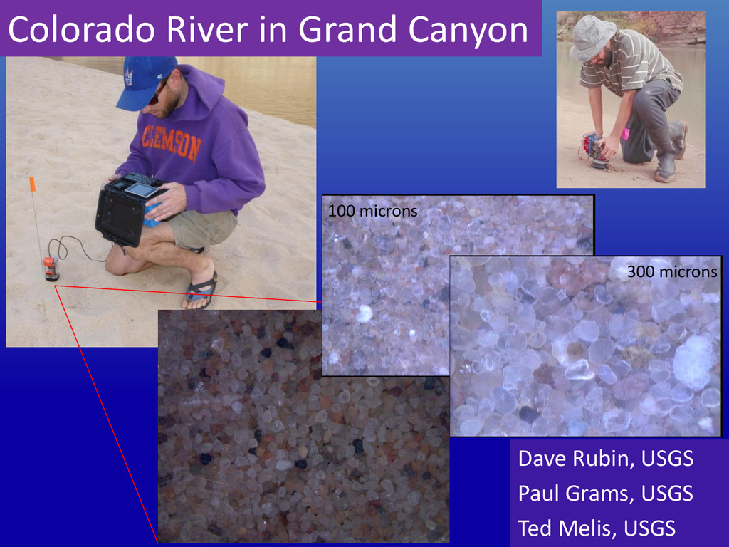 Colorado River in Grand Canyon Dave Rubin, USGS...