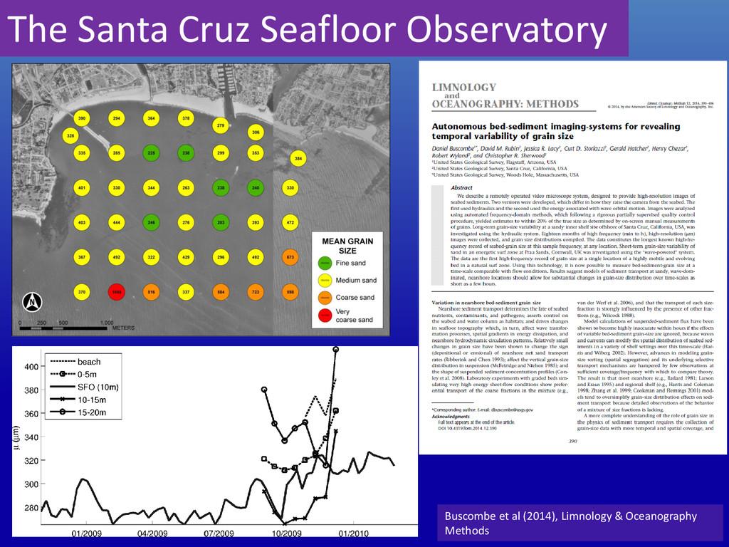 The Santa Cruz Seafloor Observatory Buscombe et...